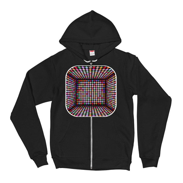 Checker Room Hoodie Sweater - Thienna's Sweet Life