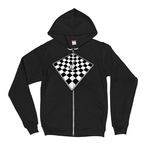 Chessboard Checkered Hoodie Sweater - Thienna's Sweet Life