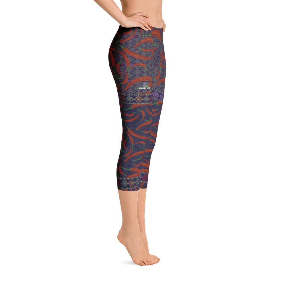 Hot Chili Capri Leggings - Thienna's Sweet Life