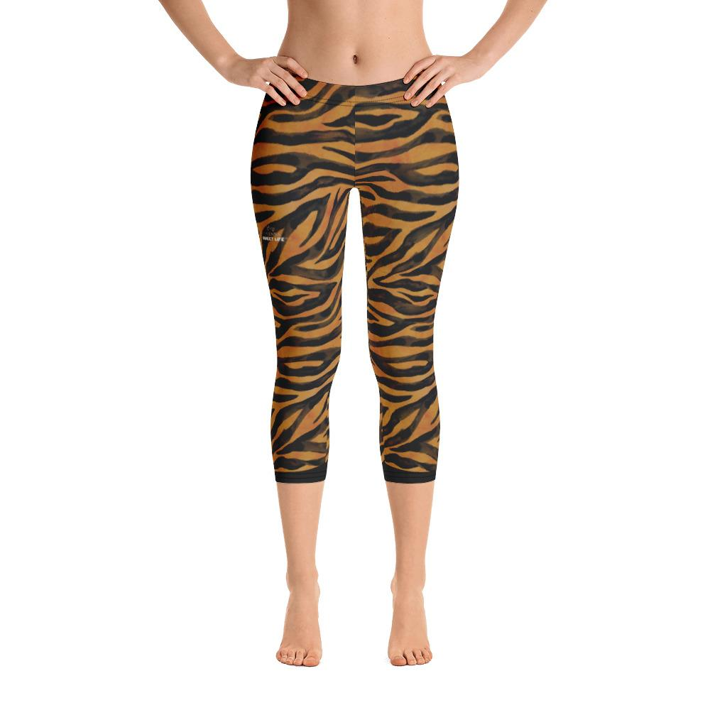 Tiger Capri Leggings - Thienna's Sweet Life
