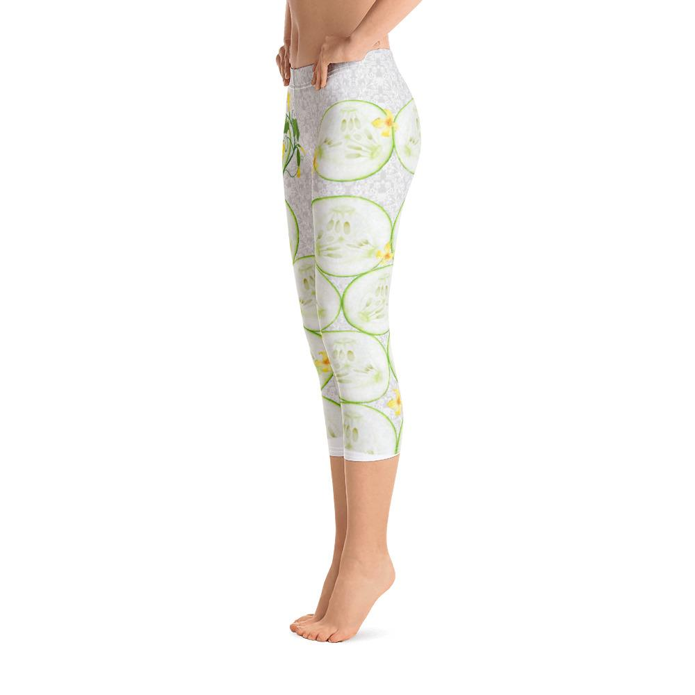 Cool As A Cucumber Capri Leggings - Thienna's Sweet Life
