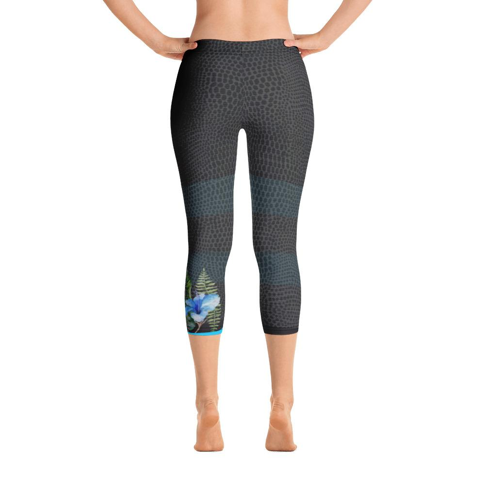 Hummingbird Capri Leggings - Thienna's Sweet Life