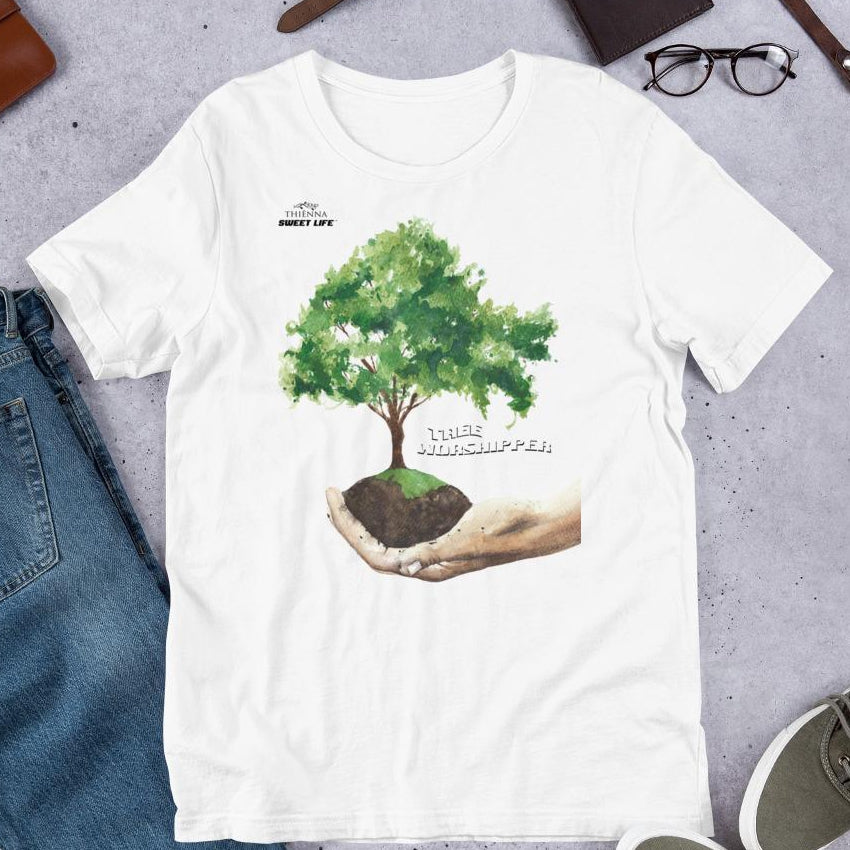 Tree Worshipper Short-Sleeve Unisex T-Shirt - Thienna's Sweet Life
