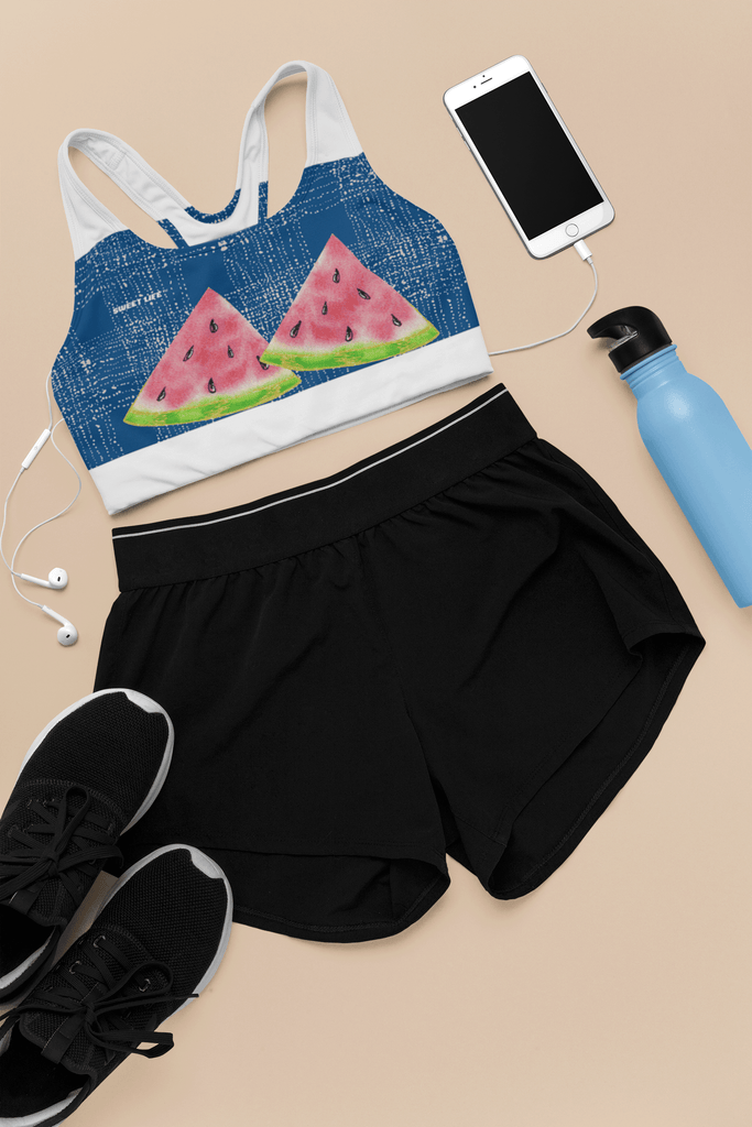 Watermelon Sports Bras - Thienna's Sweet Life