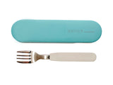 ACCESSORIES FORK AND CASE Light blue