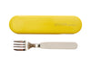 ACCESSORIES FORK AND CASE Lemon zest