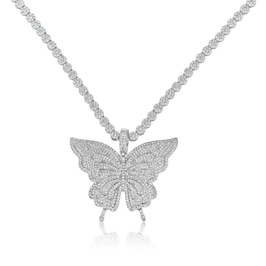 Sterling Silver Radiant Butterfly
