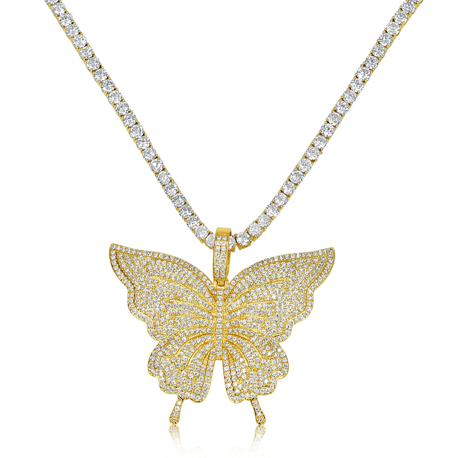 Gold Radiant Butterfly