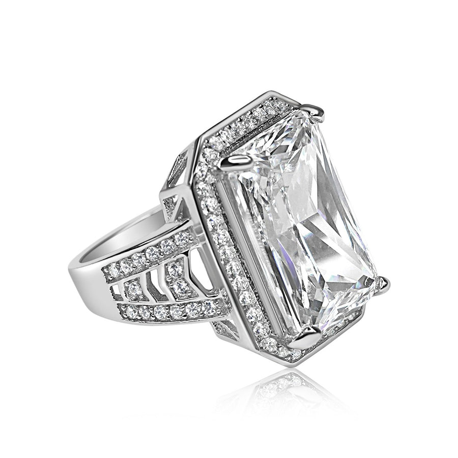 High Society Diamanté Ring 8.5 Carat