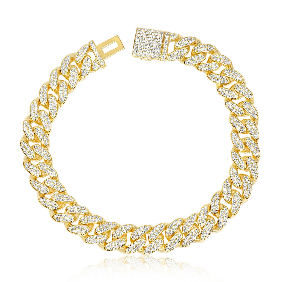 Gold Classic Cuban Anklet