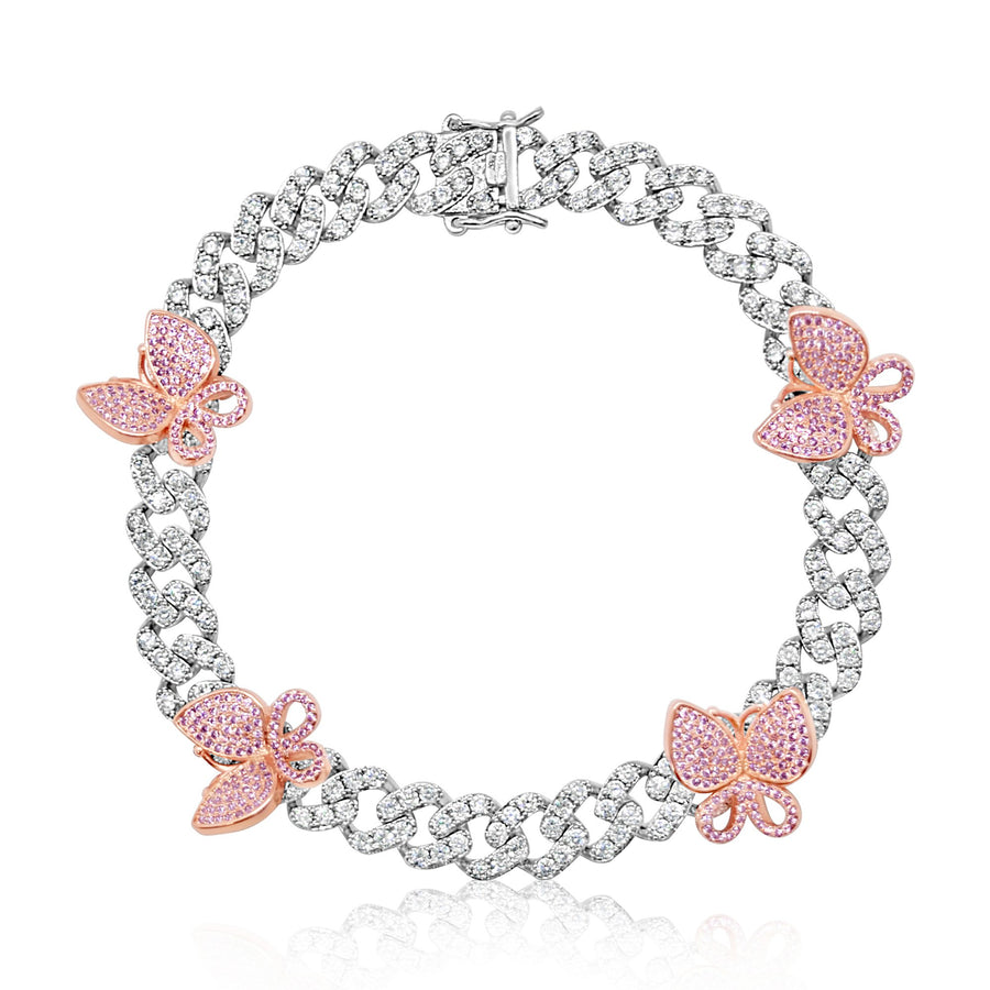 Pink Butterfly | Dainty Wings Anklet