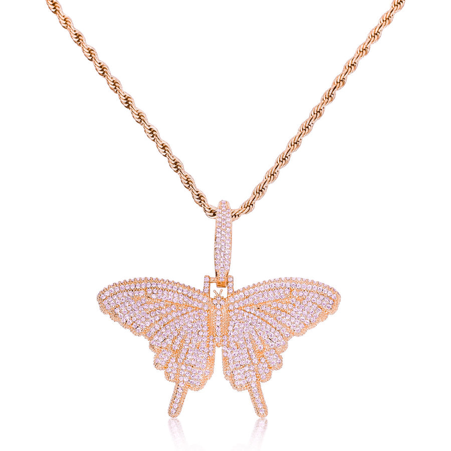 Rose Gold Butterfly Heaven