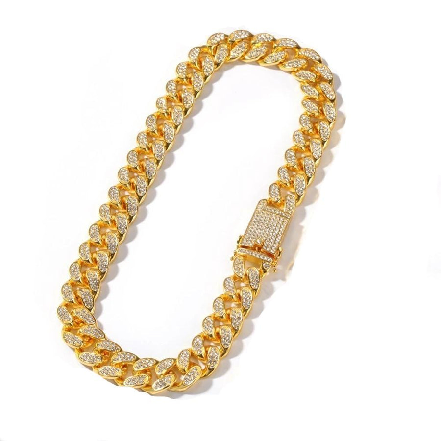 20mm Yellow Gold Cuban Link