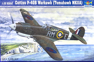 Curtiss P-40B Warhawk Tomahawk MKIIA 1/32 Scale 2003 Issue