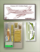 Load image into Gallery viewer, Cessna 421 Golden Eagle 1/72