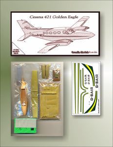 Cessna 421 Golden Eagle 1/72