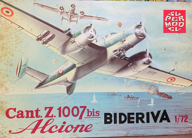 Cant Z.1007 bis Alcione Bideriva  1/72  1973 Issue