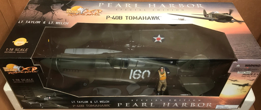 P40B Tomahawk Taylor/Welch '160' 1/18