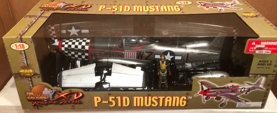 P51D Mustang 'Big Beautiful Doll' Landers    1/18