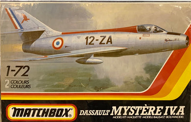 Dassault Mystère IV A  1/72 1986 Issue