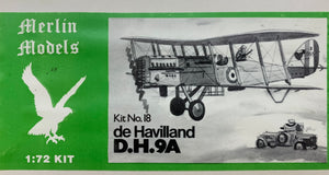 de Havilland D.H. 9A 1/72 by Merlin Models
