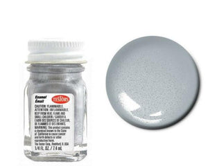 Silver - Metallic  -1/4 oz Enamel by Testors #1146
