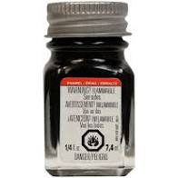 Black -1/4 oz Enamel Gloss by Testors #1147