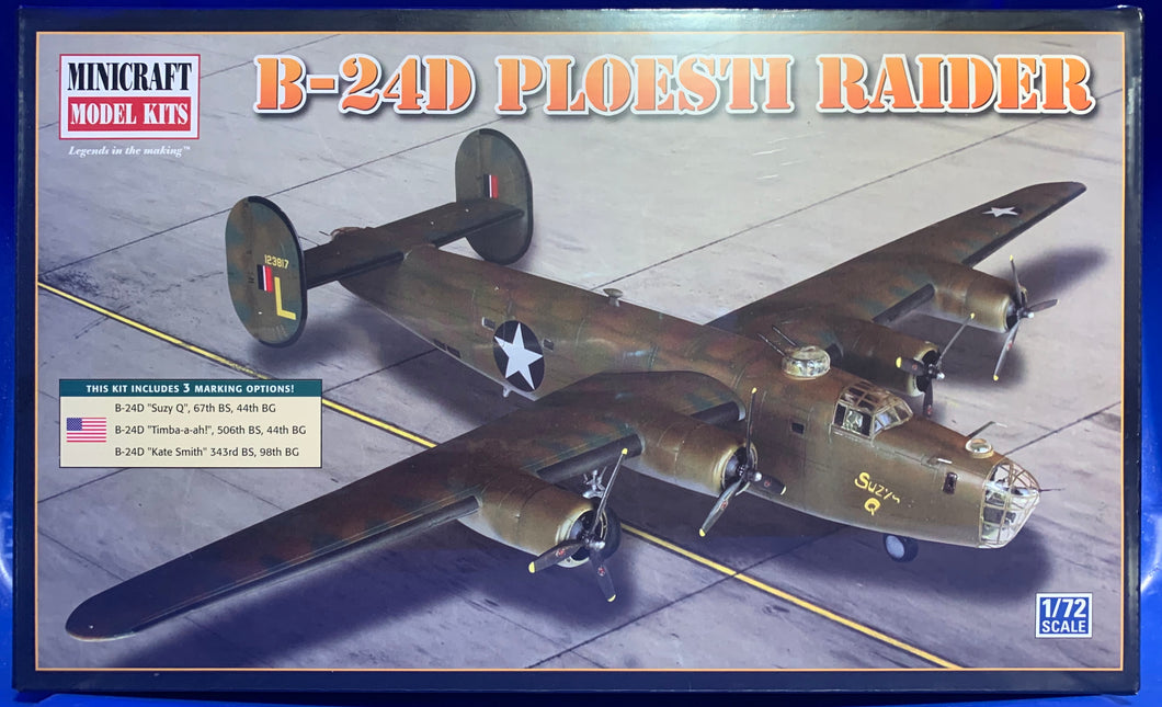 B24D Ploesti Raider 1/72 2010 Issue