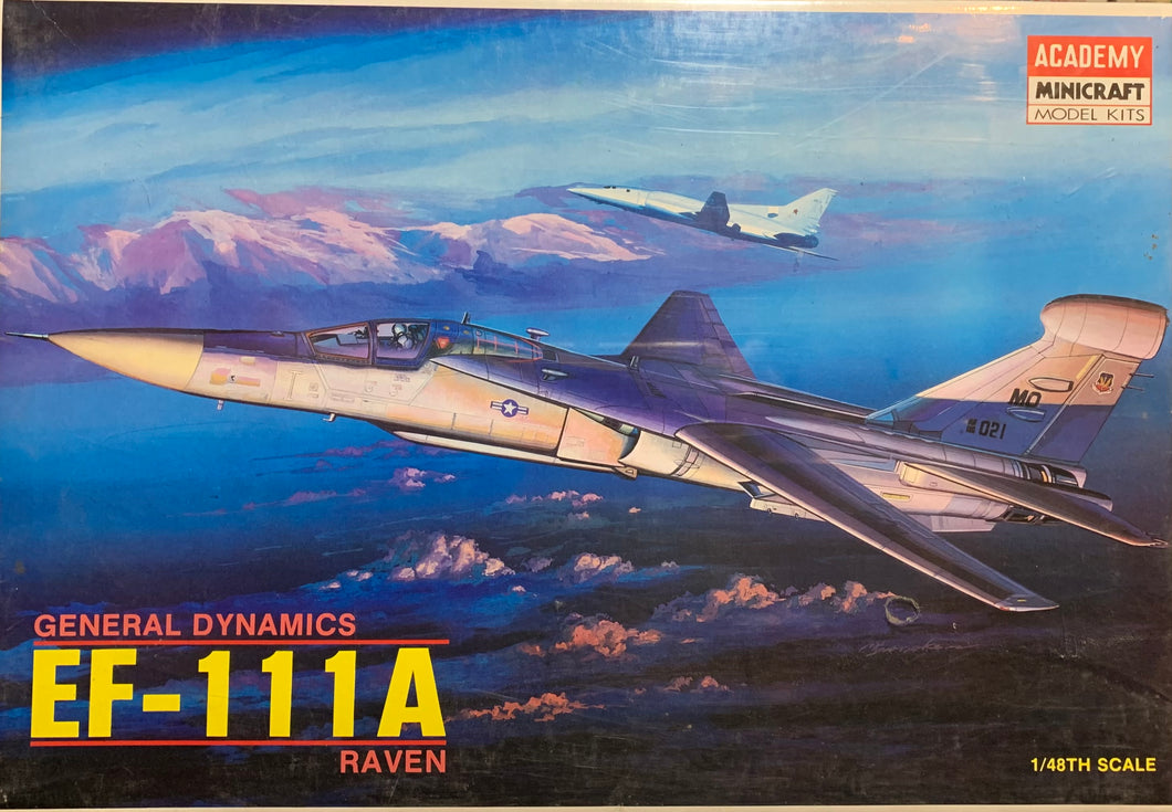 General Dynamics EF-111A Raven  1/48  1988 Issue