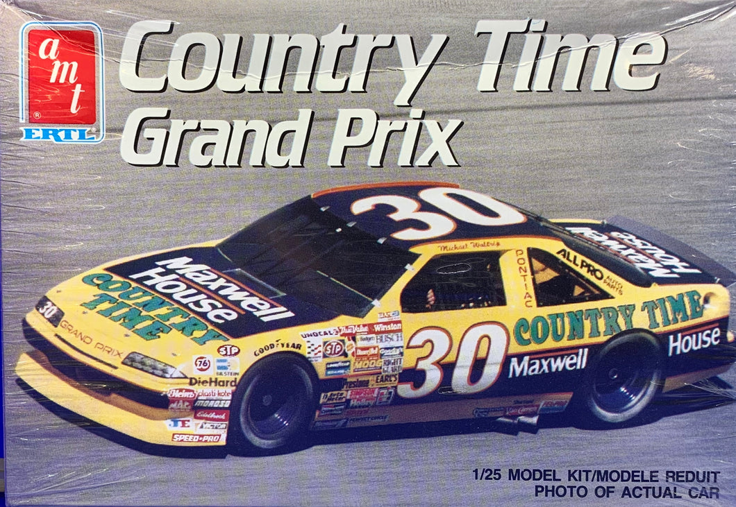 Country Time Grand Prix  1/25  1990 Issue