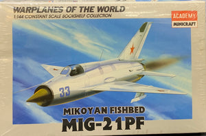 "Mikoyan MiG-21PF ""Fishbed"" 1/144 scale"