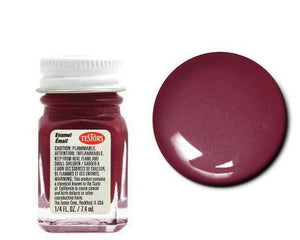 Maroon - 1/4 oz Enamel Gloss by Testors #1186