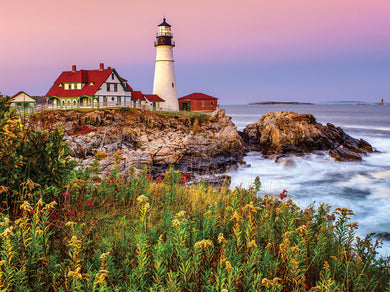 Maine Lighthouse 1000 Piece Jigsaw Puzzle