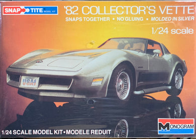1982 Collector's Vette Snap Tite 1/24