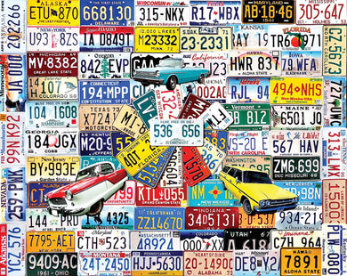 State Plates 550 Pc.