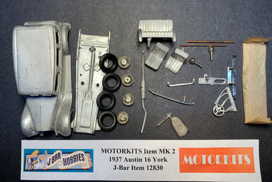 1937 Austin 16 York 1/43  White Metal Kit