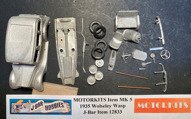 1935 Wolseley Wasp 1/43 White Metal Kit
