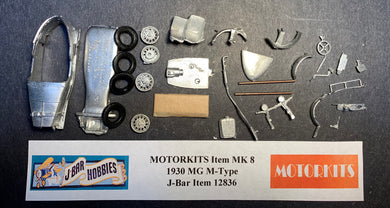 1930 MG M-Type 1/43  White Metal Kit