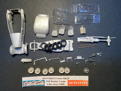 1935 Ford Y Type 1/43 White Metal Kit by Motorkits