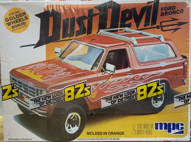 Ford Bronco Dust Devil 1/25  1982 Issue **LAST ONE**