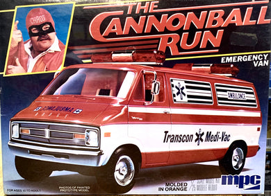 The Cannonball Run Dodge B Van  Ambulance 1981 Issue **LAST ONE**