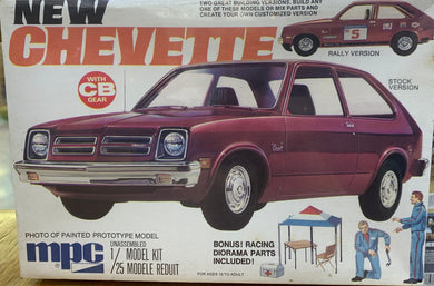 New Chevette 1/25 1976 Initial release **LAST ONE**