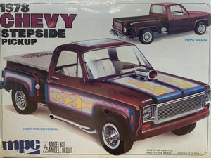 1978 Chevy Stepside Pickup 1/25  1977  Initial release **LAST ONE**