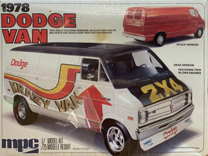 Dodge Van 1978  1/25  1977 Issue **LAST ONE**