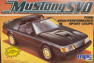 Mustang SVO 1/25 1985 Issue
