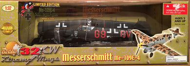 Messerschmitt 109E-4 Night Fighter      1/32