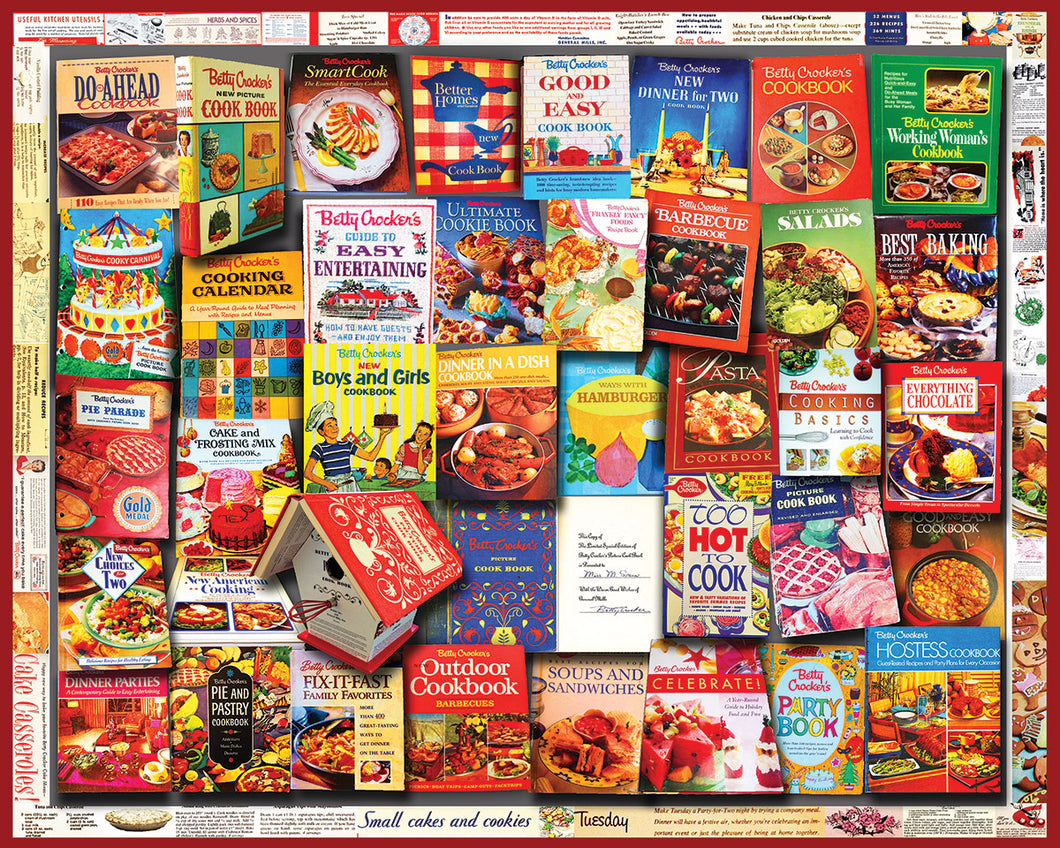 Betty Crocker Cookbooks 1000 Pc.