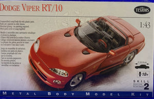 Dodge Viper RT/10 Unassembled Metal body kit with plastic parts  1/43 Scale