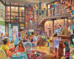 Local Book Store 1000 Piece Jigsaw Puzzle