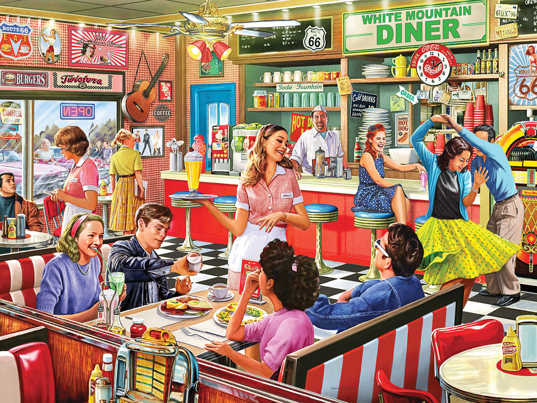 American Diner 1000 Pc.